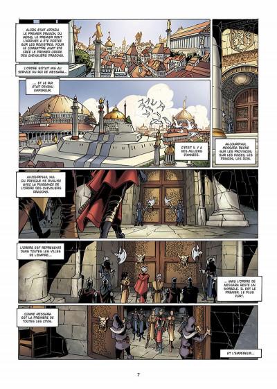 Page 8 la geste des chevaliers dragons tome 4 - brisken