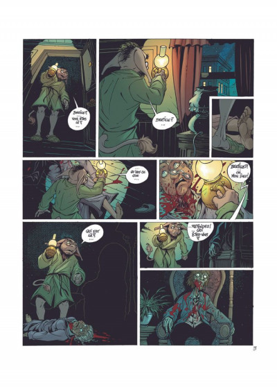 Page 2 les arcanes du midi-minuit tome 4 - l'affaire du oungan