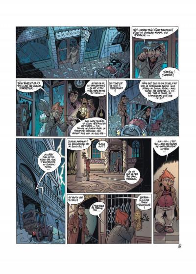 Page 3 les arcanes du midi-minuit tome 4 - l'affaire du oungan