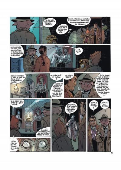 Page 4 les arcanes du midi-minuit tome 4 - l'affaire du oungan
