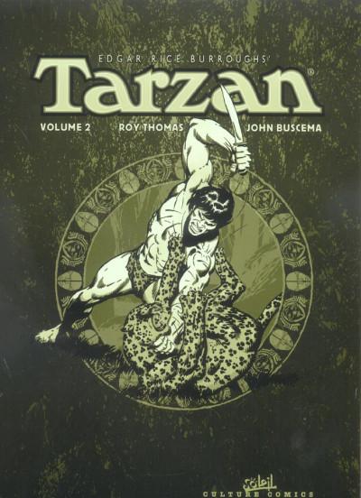 Couverture tarzan - intégrale tome 2