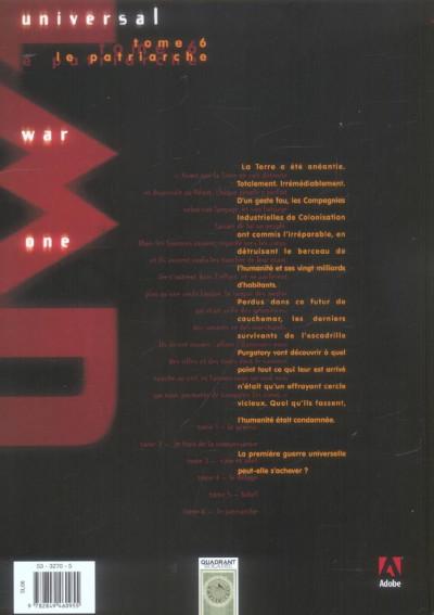 Dos universal war one tome 6 - le patriarche