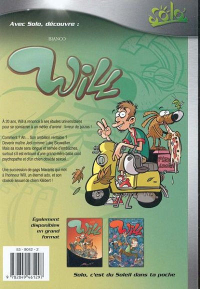 Dos will tome 1 - y'a des jours comme ca