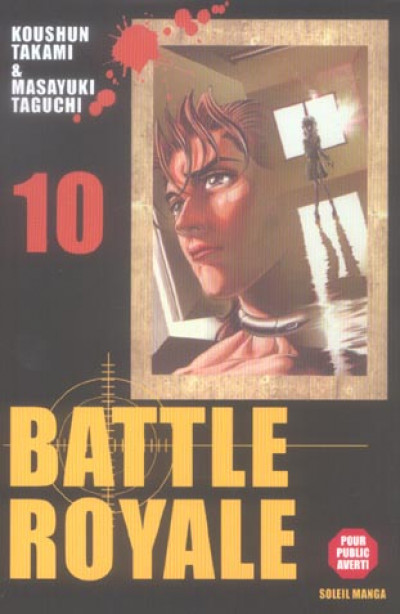 Couverture battle royale tome 10
