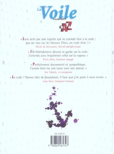 Dos la voile illustrée de a à z