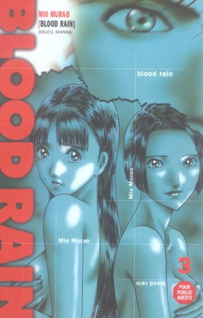 Couverture blood rain tome 3