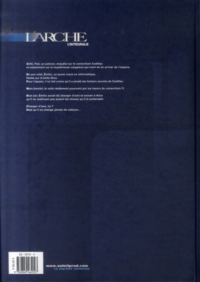 Dos l'arche - intégrale tome 1 à tome 3 - rejoignez le paradis