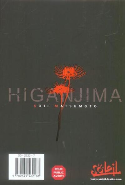 Dos higanjima, l'île des vampires tome 1