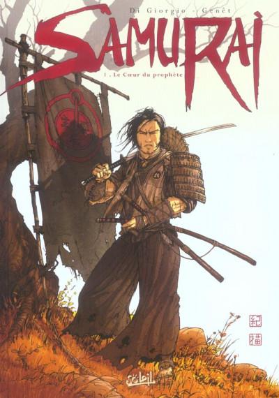 Couverture samurai tome 1 - le coeur du prophète