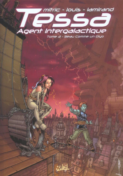 Couverture tessa, agent intergalactique tome 3 - beau comme un diyo