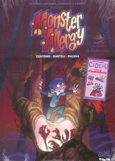 Couverture monster allergy tome 10 - au coeur de l'arbre creux