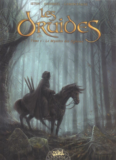 Couverture les druides tome 1 - le mystère des oghams