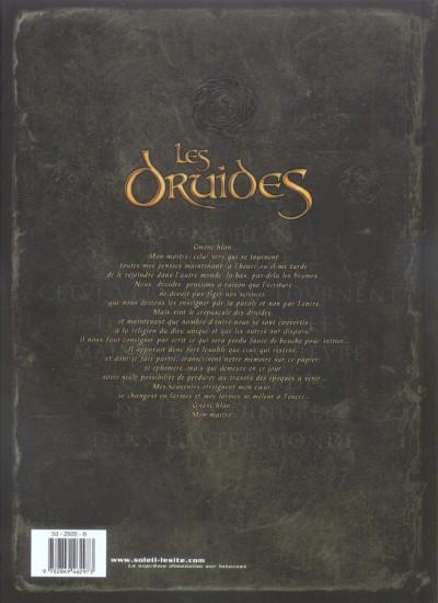 Dos les druides tome 1 - le mystère des oghams