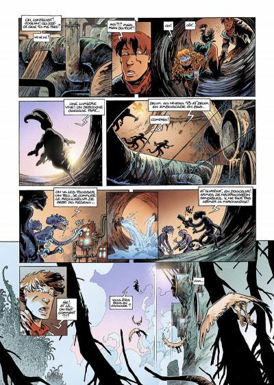 Page 5 lanfeust des étoiles tome 5 - la chevauches des bactéries
