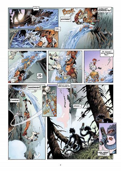Page 6 lanfeust des étoiles tome 5 - la chevauches des bactéries