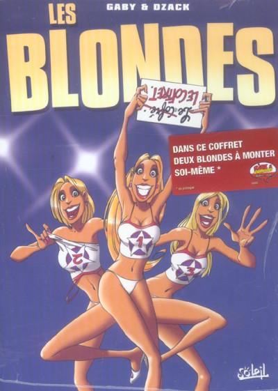 image de les blondes - coffret tome 1 à tome 3