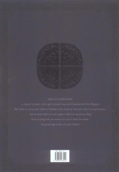 Dos les forets d'opale - coffret tome 1 + tome 2 - édition noir/blanc grand format