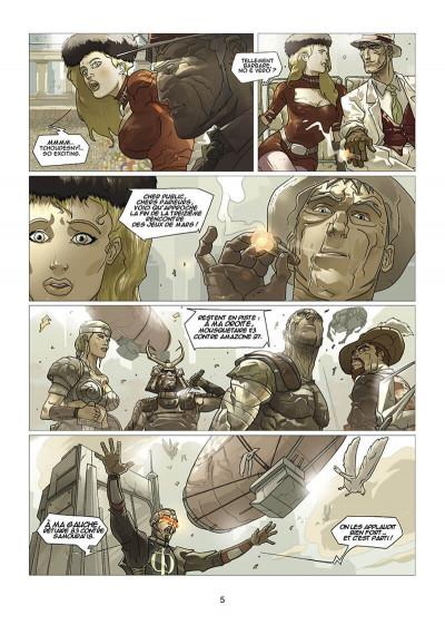 Page 6 les chroniques de centrum tome 2 - le furet et la colombe