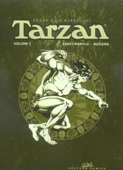 Couverture tarzan - intégrale tome 3