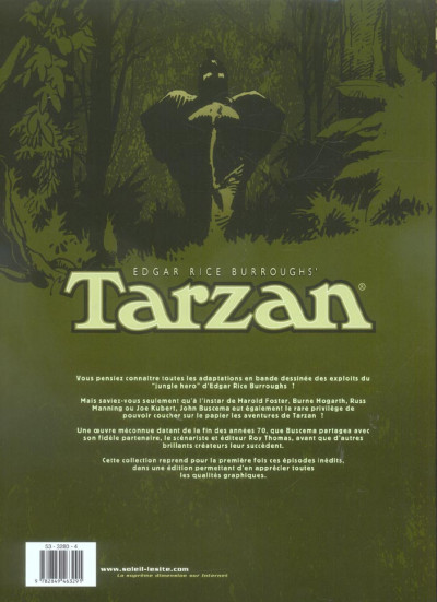 Dos tarzan - intégrale tome 3