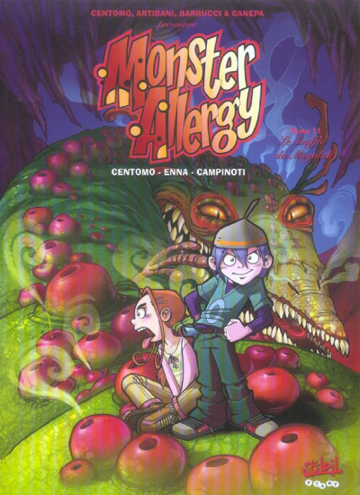 Couverture monster allergy tome 11 - le souffle du mugalak