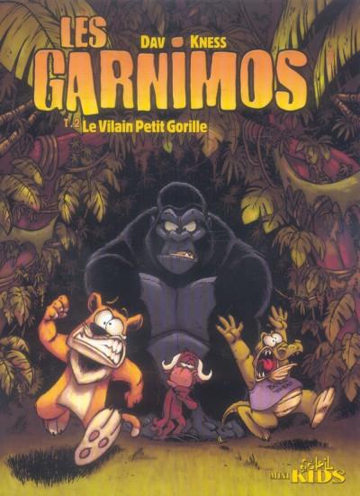 Couverture les garnimos tome 2 - le vilain petit gorille
