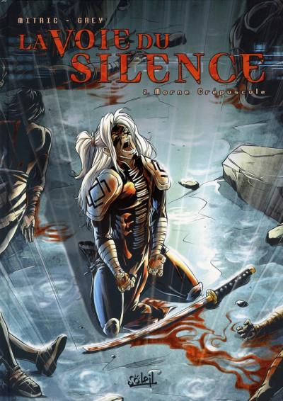 Couverture la voie du silence tome 2 - morne crepuscule