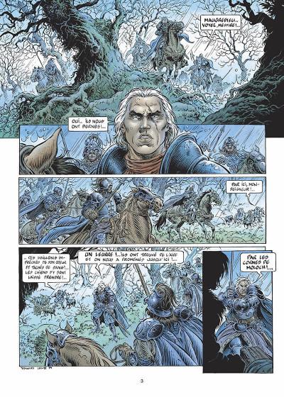 Page 4 légende tome 3 - la grande battue