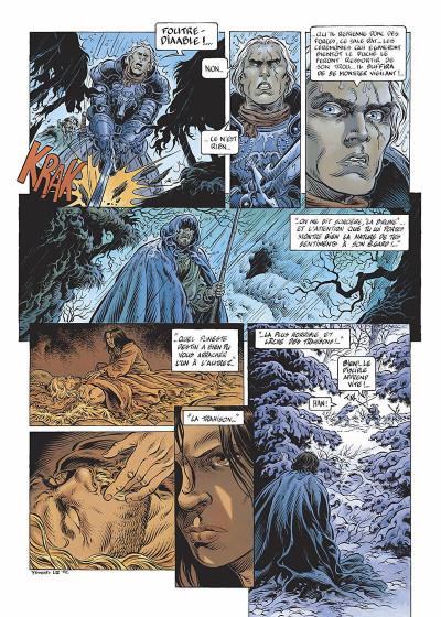 Page 5 légende tome 3 - la grande battue