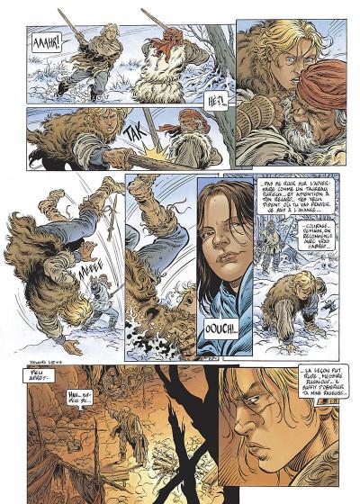 Page 6 légende tome 3 - la grande battue