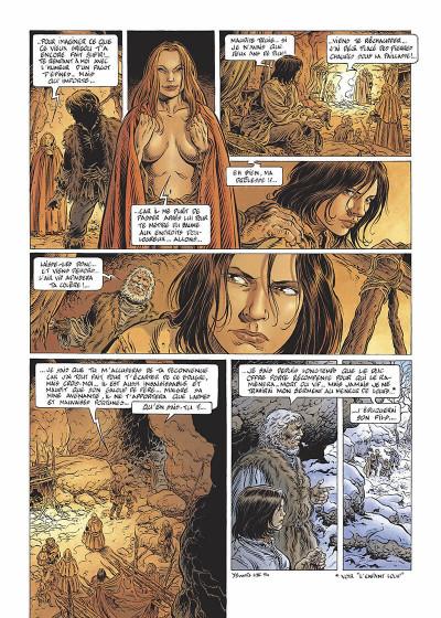 Page 7 légende tome 3 - la grande battue