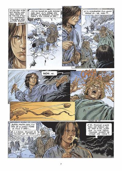 Page 8 légende tome 3 - la grande battue