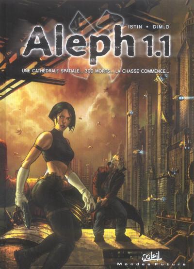 Couverture aleph 1.1 tome 1 - l'énigme du luuna