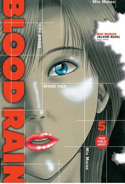 Couverture blood rain tome 5