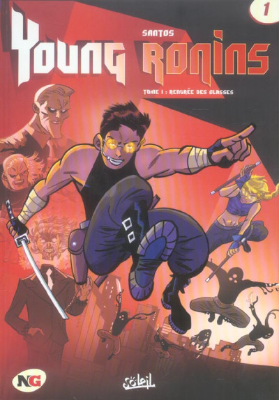 Couverture Young ronins tome 1