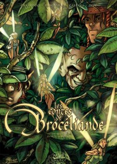 image de les contes de broceliande tome 4 - du rififi en bretagne