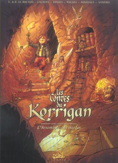 Couverture les contes du korrigan tome 7 - l'assemblée des bardes