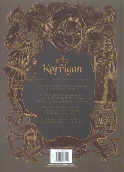 Dos les contes du korrigan tome 7 - l'assemblée des bardes