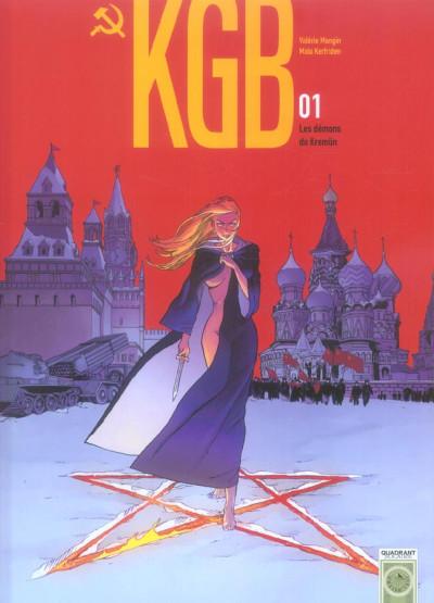 Couverture kgb tome 1 - les démons du kremlin