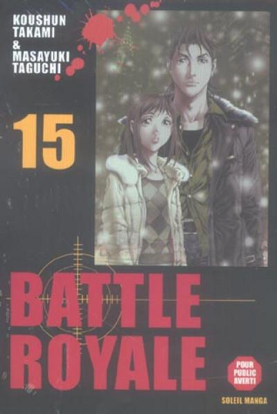 Couverture battle royale tome 15