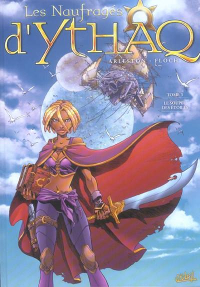 Couverture les naufragés d'ythaq tome 3 - le soupir des étoiles