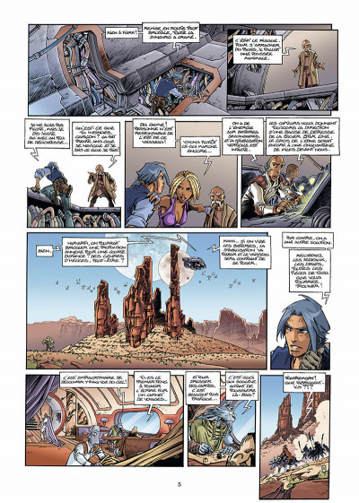 Page 6 les naufragés d'ythaq tome 3 - le soupir des étoiles