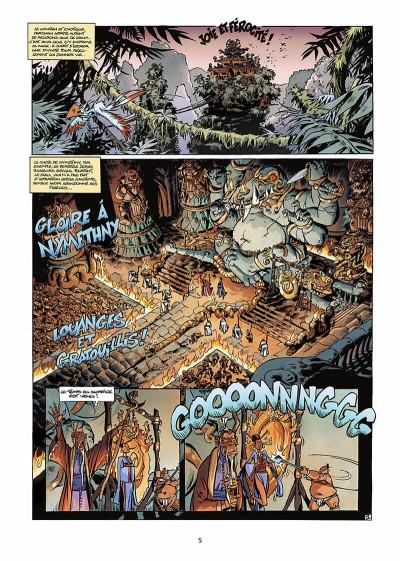 Page 4 trolls de troy tome 9 - les prisonniers du darshan tome 1