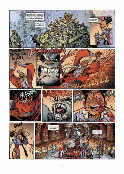 Page 6 trolls de troy tome 9 - les prisonniers du darshan tome 1