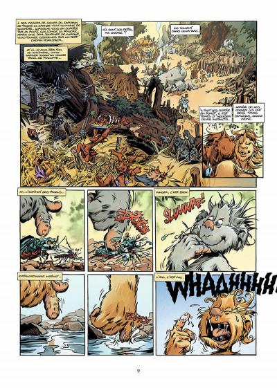 Page 8 trolls de troy tome 9 - les prisonniers du darshan tome 1