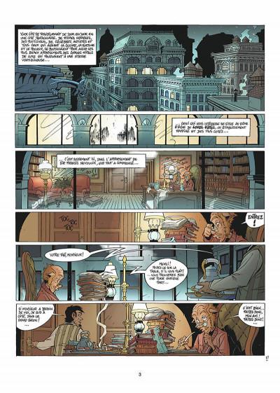 Page 4 les arcanes du midi-minuit tome 5 - affaire sylvak