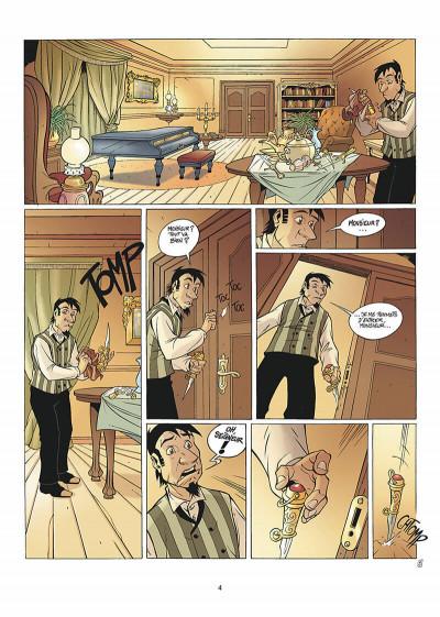 Page 5 les arcanes du midi-minuit tome 5 - affaire sylvak
