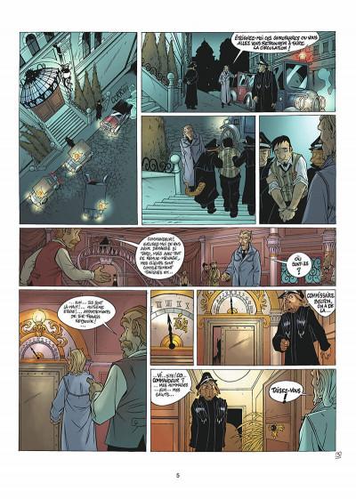Page 6 les arcanes du midi-minuit tome 5 - affaire sylvak