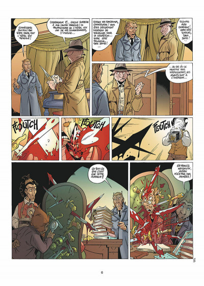 Page 7 les arcanes du midi-minuit tome 5 - affaire sylvak