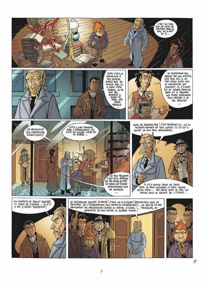 Page 8 les arcanes du midi-minuit tome 5 - affaire sylvak